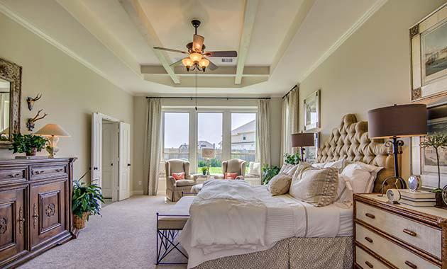 Master Bedroom - Design 7288