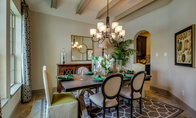 Dining Room - The Hooks VI (6475 Plan)