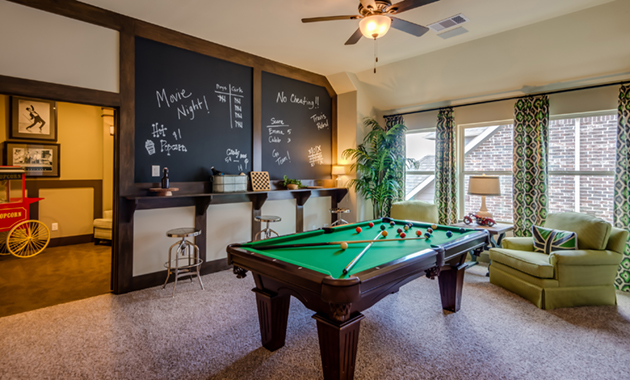 Game Room - The Hooks VI (6475 Plan)