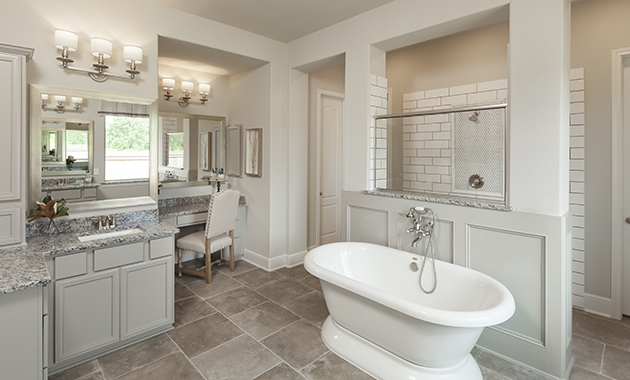 Master Bathroom - Design 6876