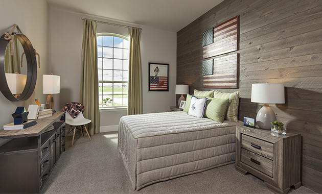 Secondary Bedroom - Design 6876