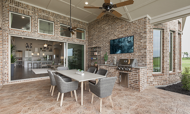 Covered Patio - Design 6876