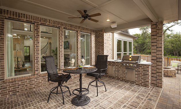 Covered Patio/Outdoor Kitchen - Design 7312