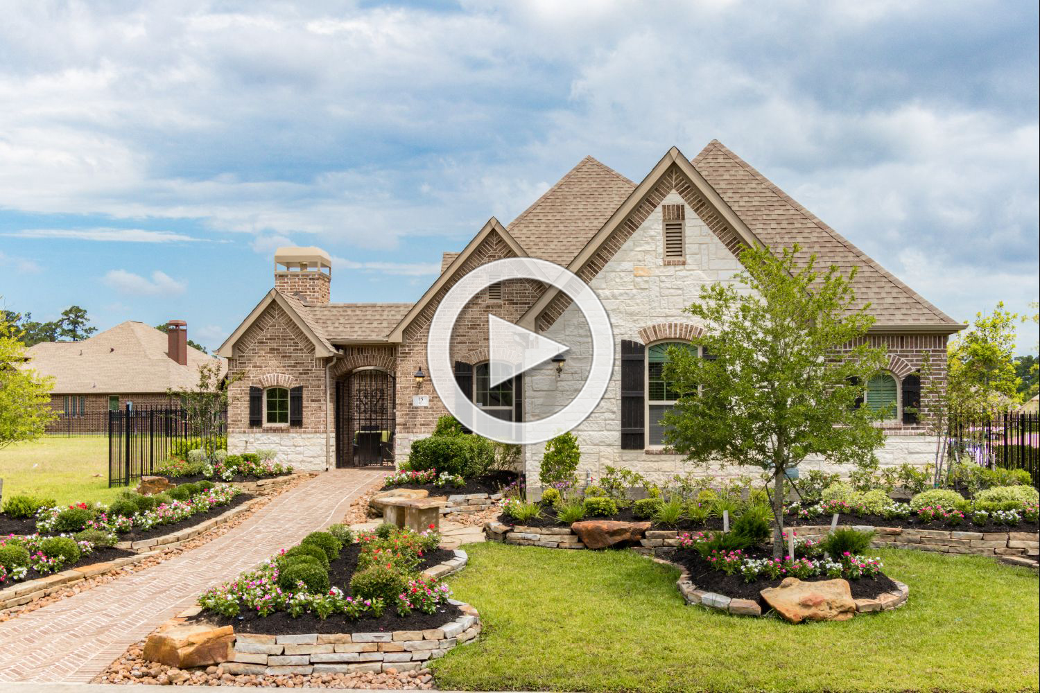 The woodlands timarron lakes timarron lakes in creekside for Coventry home builders