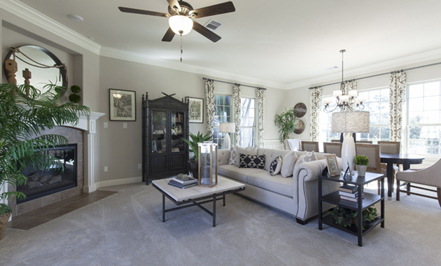 Family Room - The Corrigan (KH09 Plan)