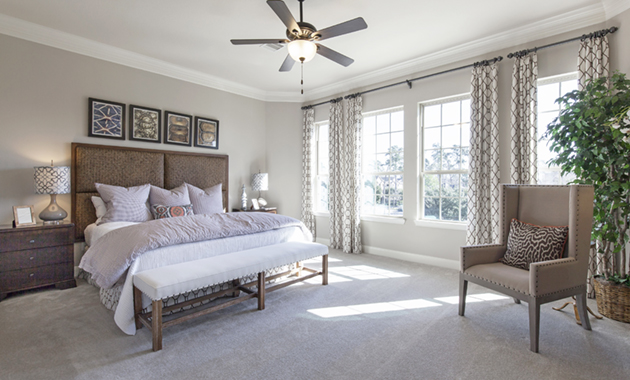 Master Bedroom - The Corrigan (KH09 Plan)