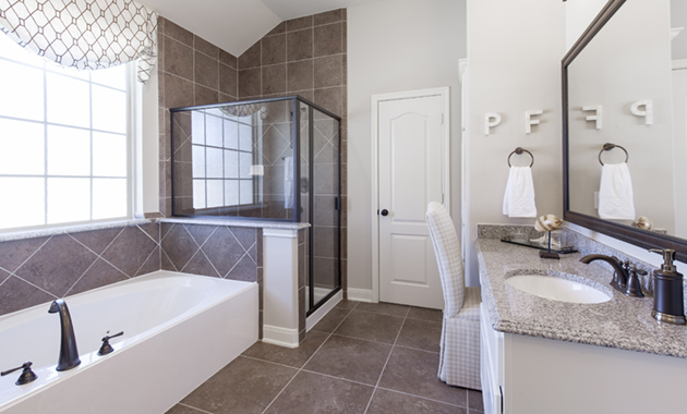 Master Bathroom - The Corrigan (KH09 Plan)