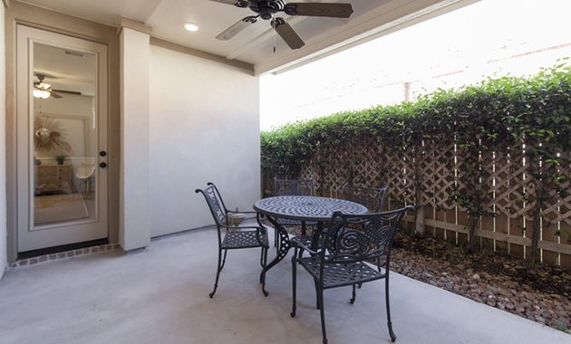 Back Patio - The Corrigan (KH09 Plan)