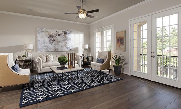 Family Room - The Evadale