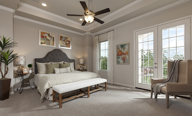 Master Bedroom - The Evadale