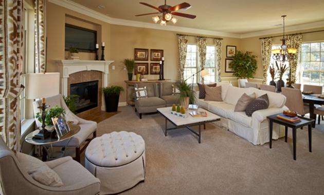 Living Room - The Corrigan (KH09 Plan)
