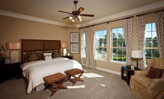 Master Bedroom - The Corrigan (KH09 Plan)