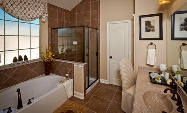 Master Bathroom - The Corrigan (KH09 Plan)