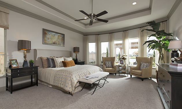 Master Bedroom - Design 7297