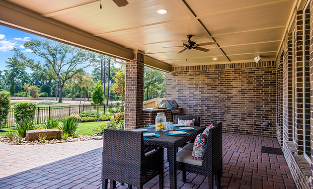 Covered Patio - Design 7297