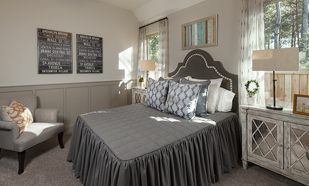 Secondary Bedroom - Design 6473