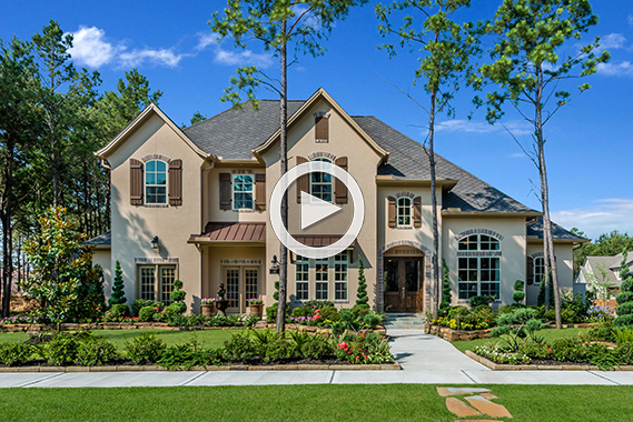 The woodlands liberty branch 60 homesites traditional for Coventry home builders