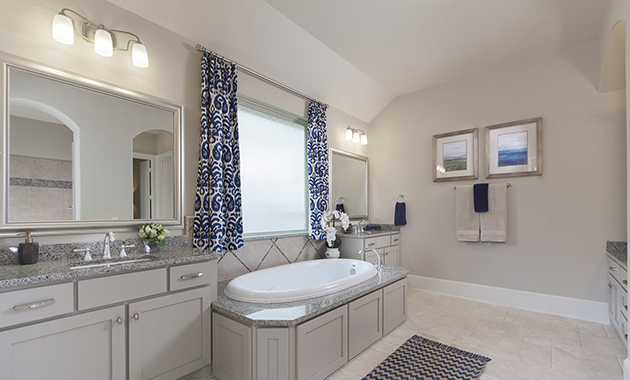 Master Bathroom - Design 8321