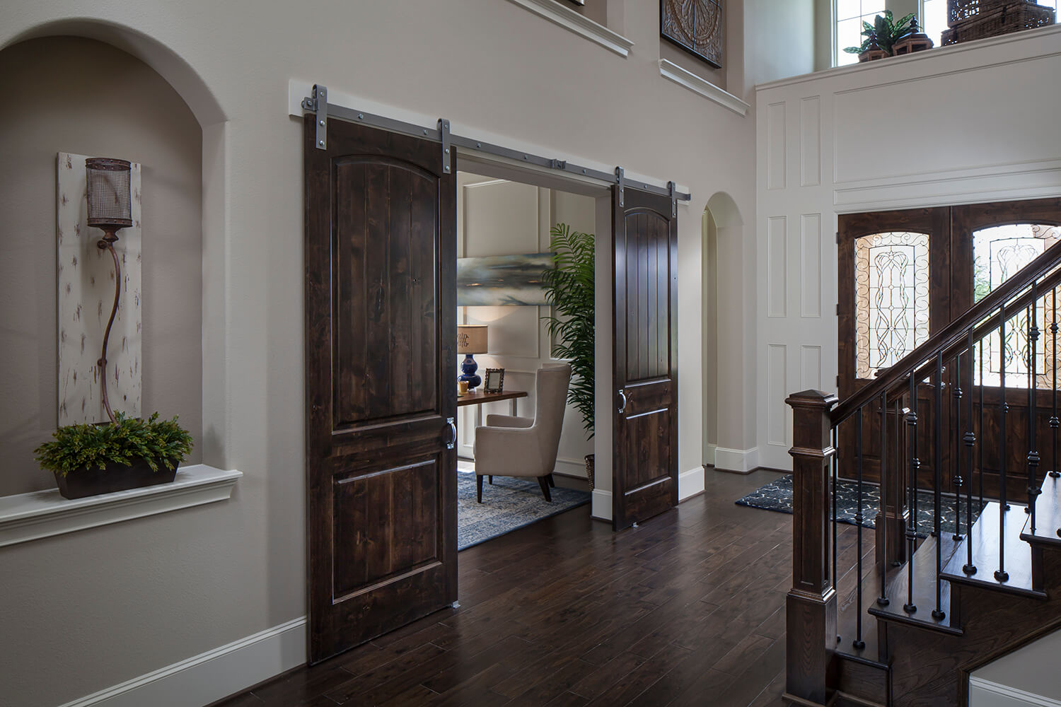Foyer and Study - Design 8321