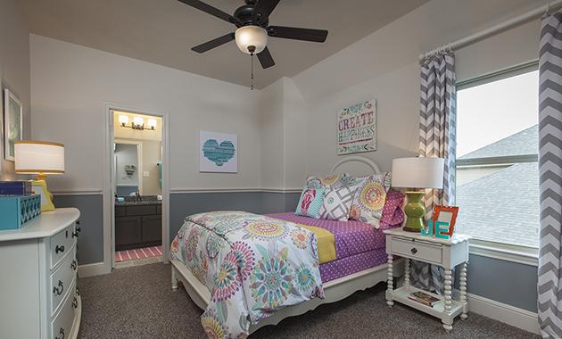 Secondary Bedroom - Design 6855