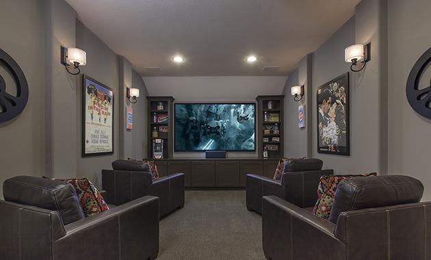 Media Room - Design 6855