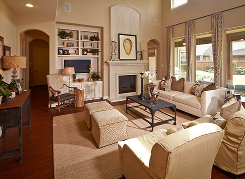Family Room - Design 8310