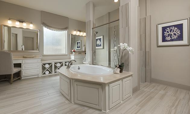 Master Bathroom - Design 8310
