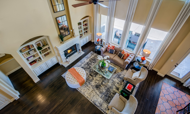 Living Room - Design 7297