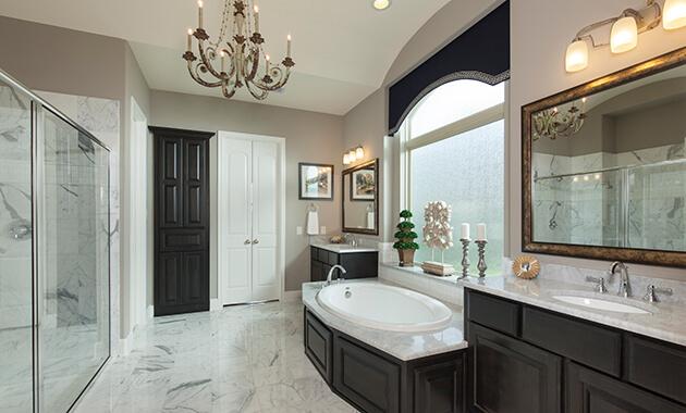 Master Bathroom - Design 7802