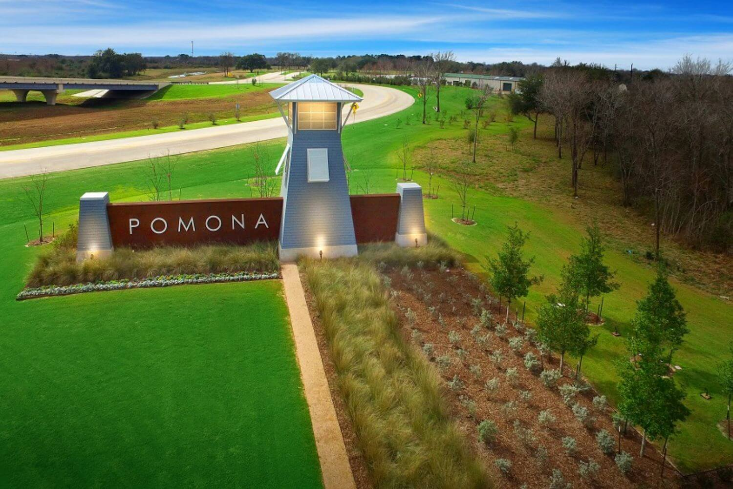 Pomona Entrance Monument