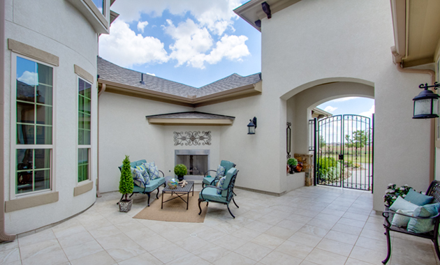 Courtyard - Design 8264