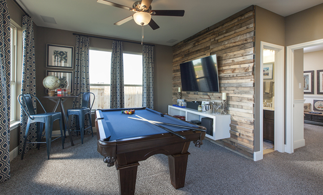 Game Room - The Nederland II (6458 Plan)