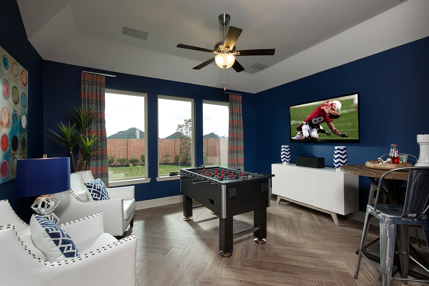 Game Room - Lindsay (6495 Plan)