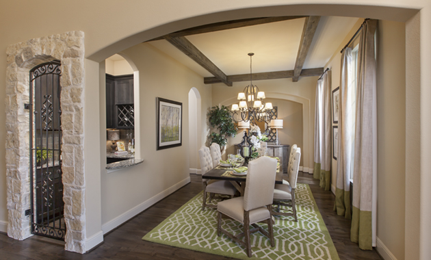Dining Room and Wine Room - Design 7302