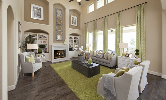 Family Room - Design 7302