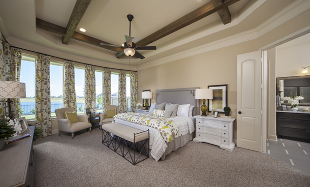 Master Bedroom - Design 7302