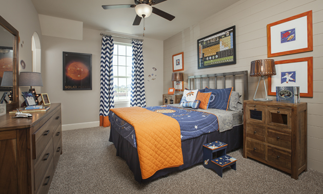 Secondary Bedroom - Design 7302
