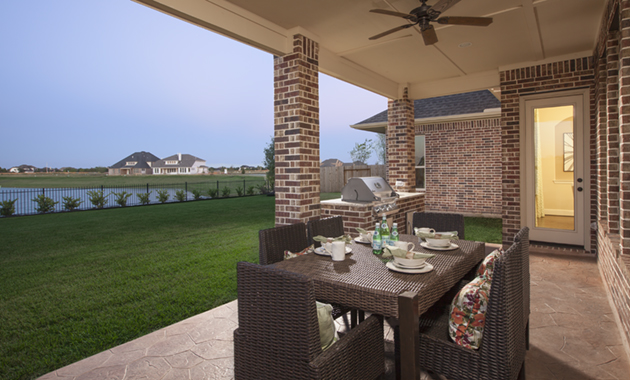 Covered Patio - Design 7302
