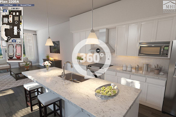 Click here to access the 360 tour of The Corinth (Design 2205)