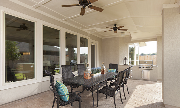 Covered Patio - Design 8264