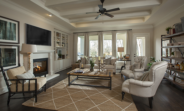 Family Room - Design 8264