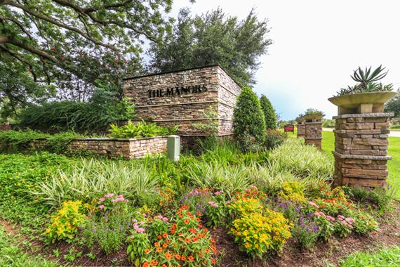 Manors at Silver Ridge - Community Entrance