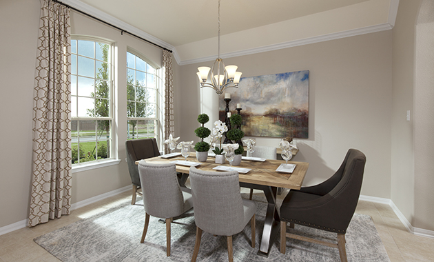 Dining Room - The Driftwood (7310 Plan)