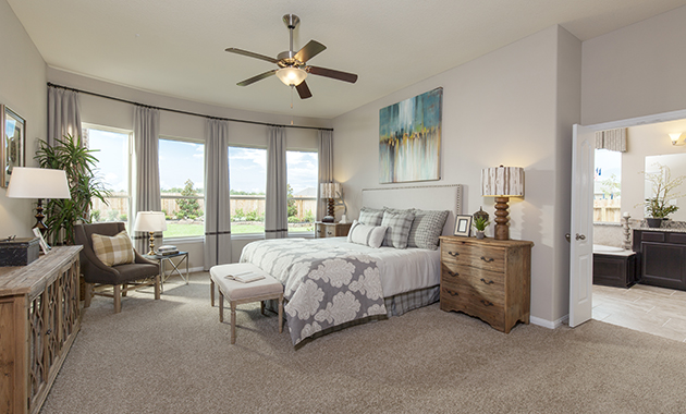 Master Bedroom - The Driftwood (7310 Plan)