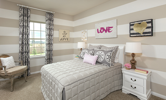 Secondary Bedroom - The Driftwood (7310 Plan)