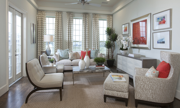 Living Room - The Versailles (Design 3130)