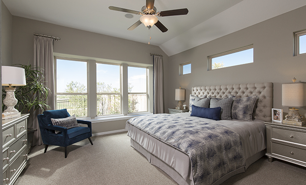 Master Bedroom - The Calvert (Design 2539)