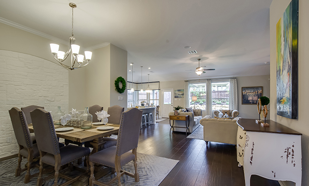 Dining Area - The Burlington (2356 Plan)