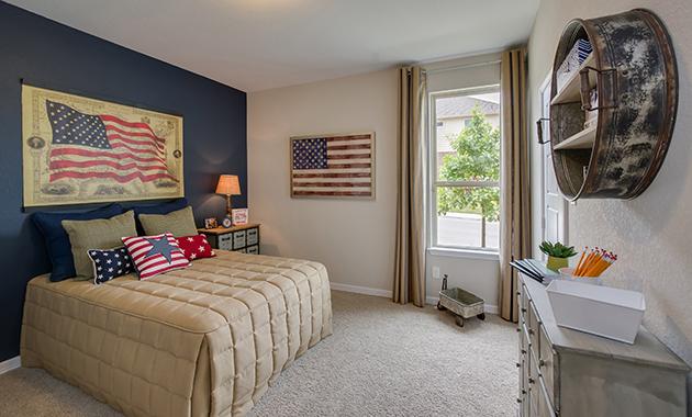 Bedroom 2 - The Burlington (2356 Plan)