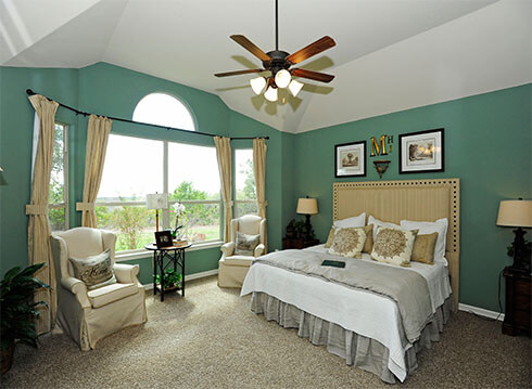 Master Bedroom - Design 6348